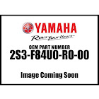 Yamaha BACKREST Kit Blk Gr 2S3-F84U0-R0-00