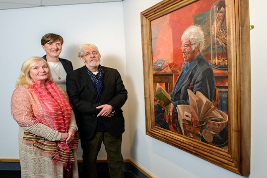 New Home for Seamus Heaney Portrait | Arts Council of Northern Ireland