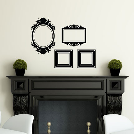 Set Of Frames Wall Decals Elegance Wall Decals