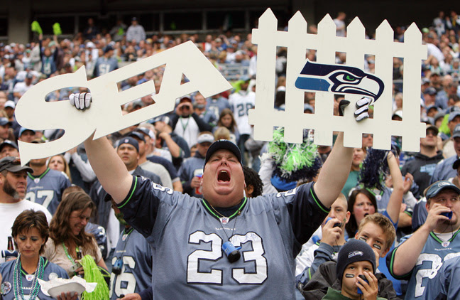 A Big Seahawks Fan