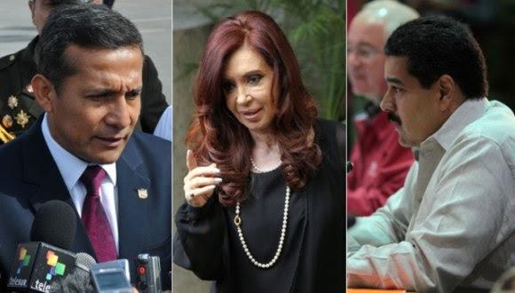 Los presidentes de América Latina, adictos a Twitter