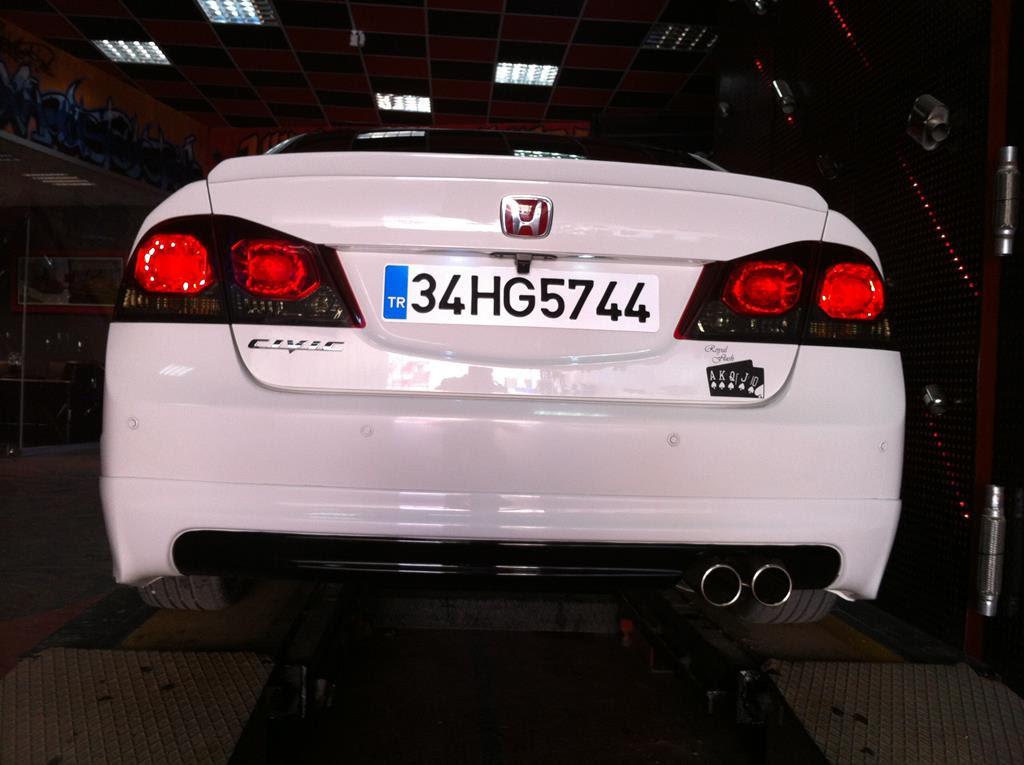 Honda Civic Fd6 16 Remus Egzoz Sesi Esa Egzoz Fabrikası Dizel