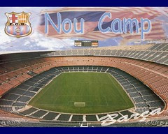 Nou Camp Stadium, Barcelona, Spain