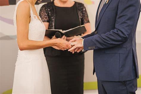 Fun Art Gallery Wedding   Polka Dot bride