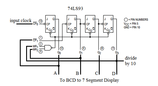 0 60 Counter Circuit Diagram