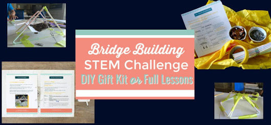 Bridge Building Stem Challenge that Combines Fun and Fascination.