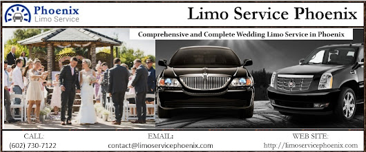 Comprehensive and Complete Wedding Limo Service in Phoenix