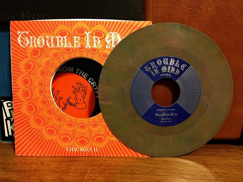 "Woollen Kits - Shelly 7"" - Brown Vinyl (/500) by Tim PopKid"