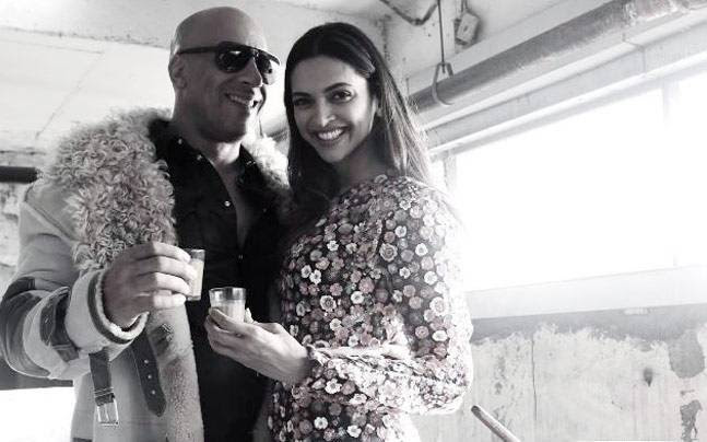SEE PIC: Vin Diesel and Deepika Padukone's xXx moment over chai