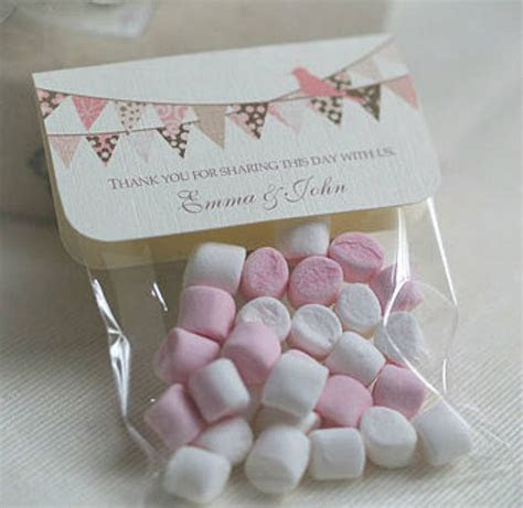 16 best Marshmallow Wedding Favours images on Pinterest