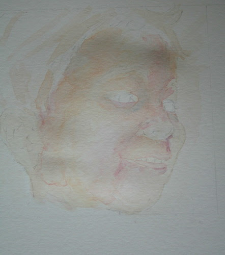 Portrait - First Wash