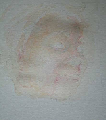 Portrait - First Wash