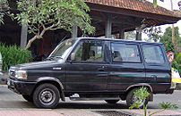 A late 1990s model Kijang KF42 in Indonesia.