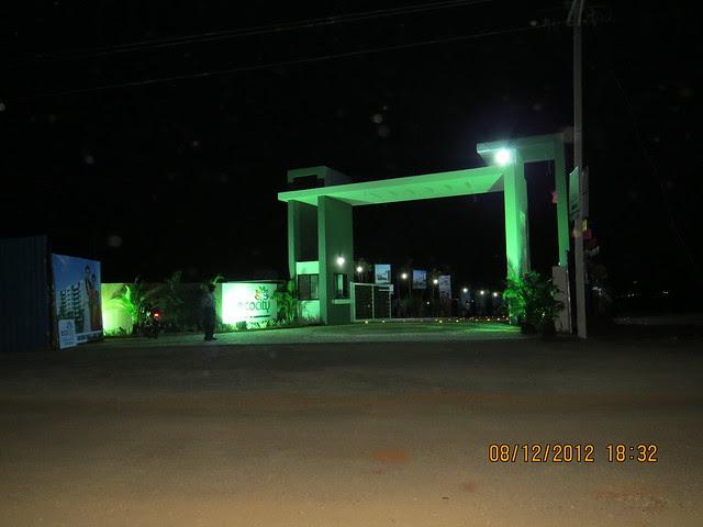 Site Office of Namrata Group's Eco City, 1 BHK & 2 BHK Economical Flats, on Varale Road, near Indrayani Mangal Karyalaya, Talegaon