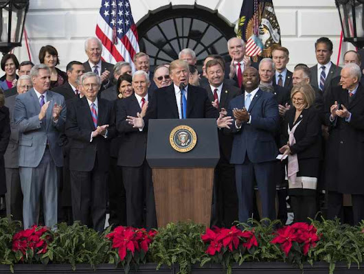 Trump Celebrates After Congress Wraps up Massive Tax Package | RealClearMarkets