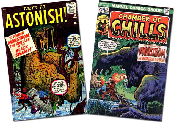 Tales to Astonish #11/Chamber of Chills #18