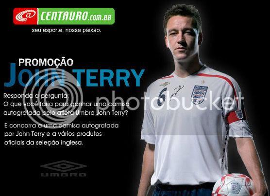 Centauro - Promoção John Terry