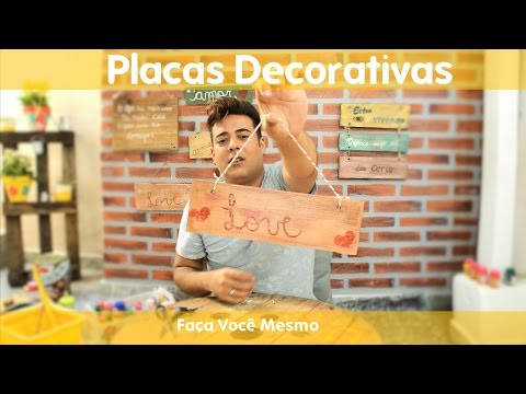 Placas Decorativas (DIY)