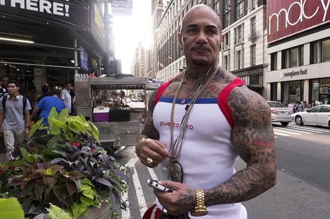 Tattoo guy, nyc