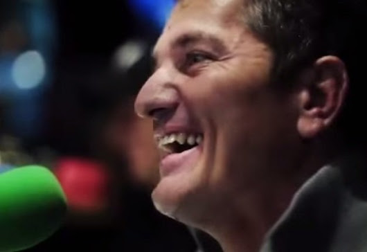 Joost earned more than a minute's silence