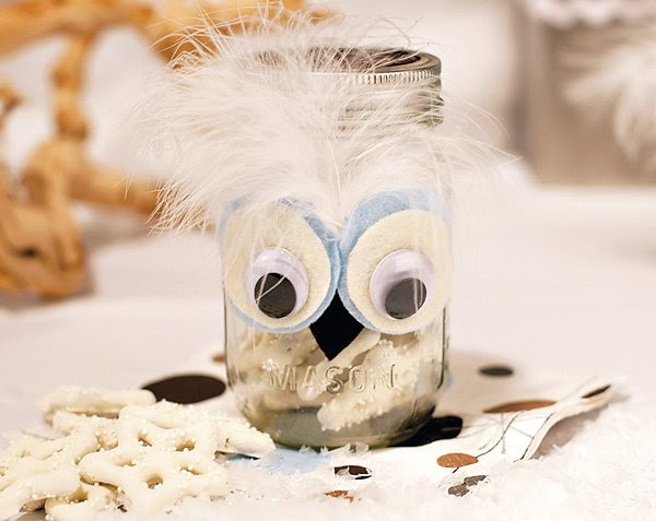 Cute Baby Shower Theme Winter Owls Hostess With The Mostess