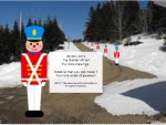 Toy Soldier 48 inch tall Yard Art Woodworking Pattern - fee plans from WoodworkersWorkshop® Online Store - toy soldiers,soliders,yard art,painting wood crafts,scrollsawing patterns,drawings,plywood,plywoodworking plans,woodworkers projects,workshop blueprints