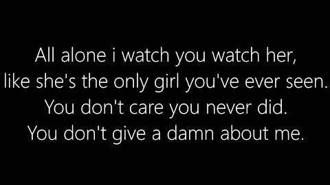 Lyrics To I Hate You I Love You By Gnash