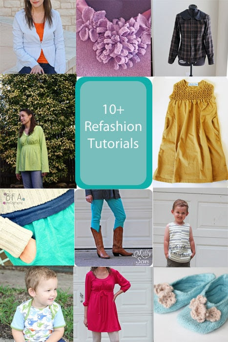 10 Refashion Tutorials