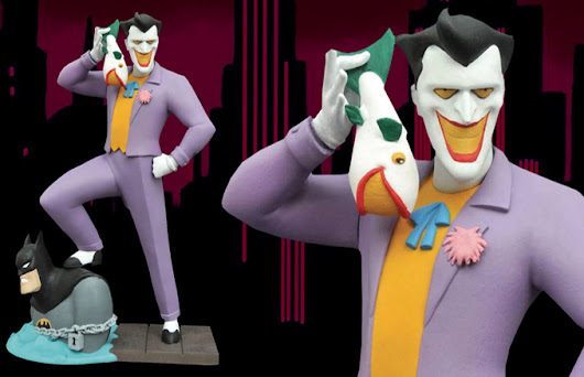 Batman: The Animated Series Joker Laughing Fish Gallery Figure