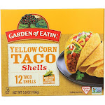 Garden Of Eatin' Yellow Corn Taco Shells - Taco Shells - 5.5 Oz - Pack of 12