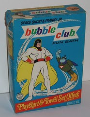 Space Ghost bubble bath box