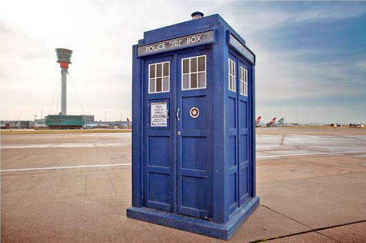 Full Sized LEGO® Tardis at This Year's Royal Easter Show
