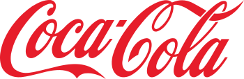 The Coca-Cola logo is an example of a widely-r...