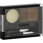 NYX Eyebrow Cake Powder, Brunette ECP05 - 0.09 oz compact