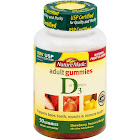 Nature Made Vitamin D3 Adult Gummies, Strawberry, Peach, Mango - 90 count