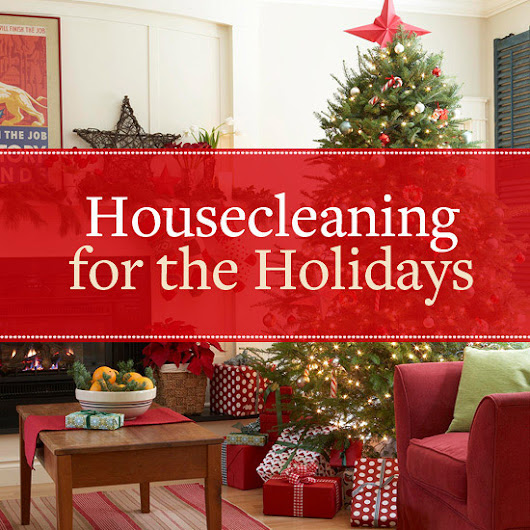 Holiday Housecleaning Tips
