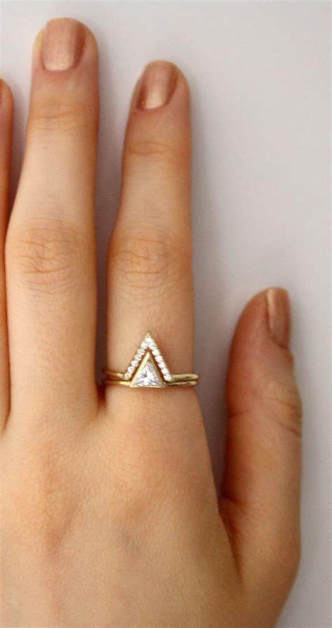 Best 25  Double ring ideas on Pinterest   Minimal jewelry
