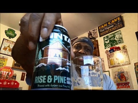 Uinta Rise & Pine Beer Review