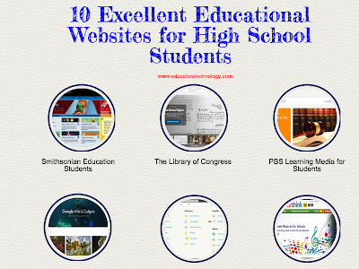 Educational Websites for High School Students