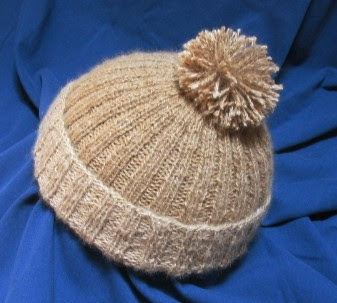 Child's alpaca cap.