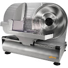 """Weston Electric Corded Home Meat and Vegetable Slicer, Silver, 9"""""""