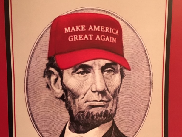 Image result for chelsea tweets about lincoln wearing trump hat