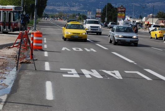 HOV lane changes coming - Kelowna News