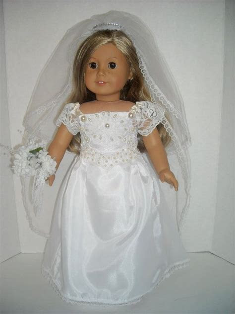 1000  images about AMERICAN GIRL DOLL    WEDDING DRESSES