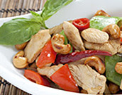 Cashew Turkey Stir Fry