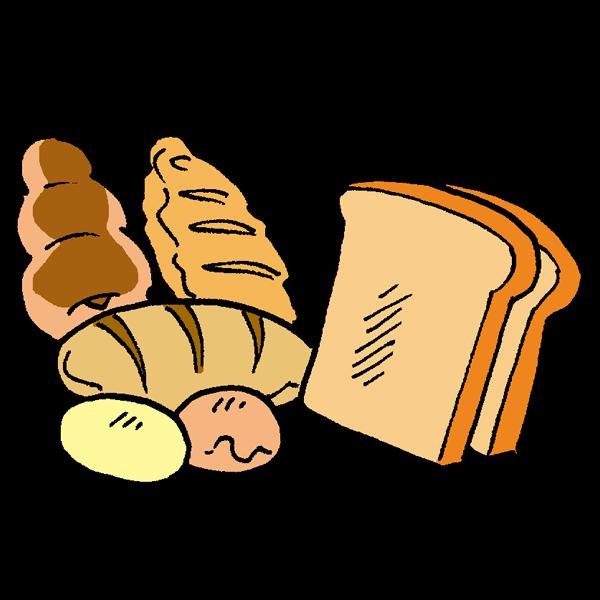 パンのイラスト かわいいフリー素材が無料のイラストレイン