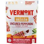 Vermont Smoke and Cure Minis Turkey Sticks Uncured Pepperoni 6 Stick(s)