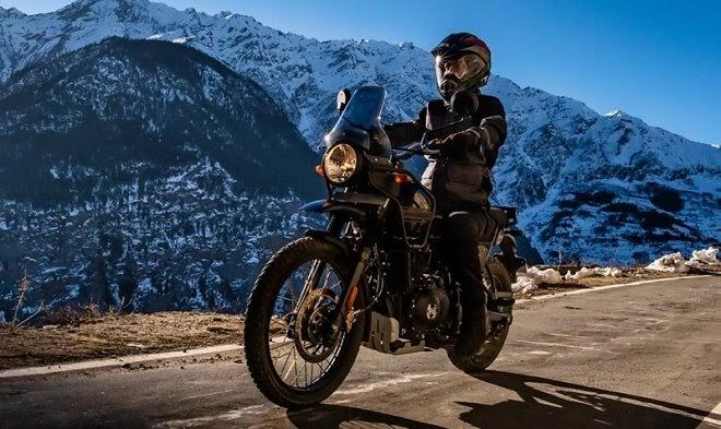 Royal Enfield обновила легендарный мотоцикл для путешествий Himalayan