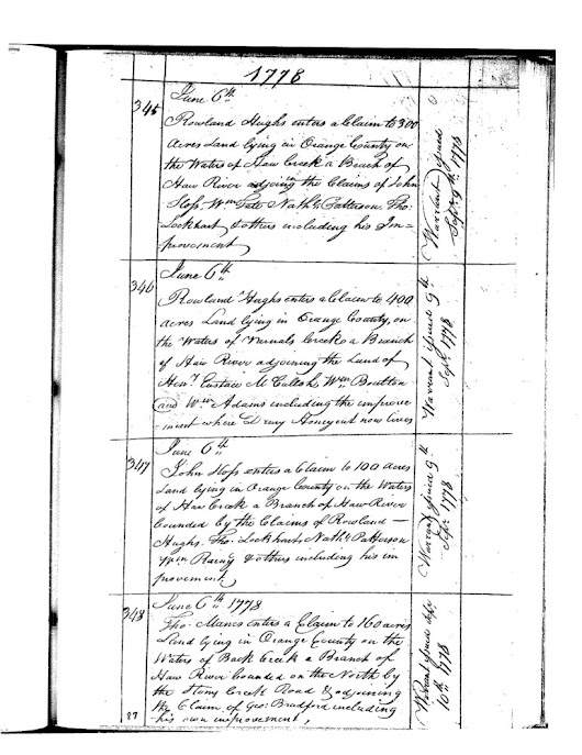 Rowland Hughes and James Fruit:  Missing links in my family tree?