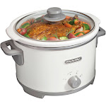 Proctor Silex Slow Cooker, Durable, 4 Quart Capacity